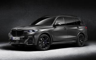Ediție limitată Dark Shadow Edition pentru BMW X7: SUV-ul primește vopsea specială și alte echipamente BMW Individual