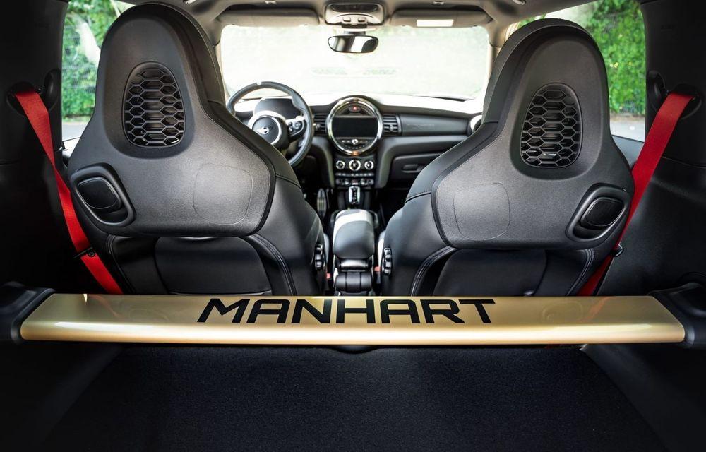 Manhart a pregătit un pachet de performanță pentru Mini John Cooper Works GP: Hot Hatch-ul britanic dezvoltă acum 350 CP - Poza 7