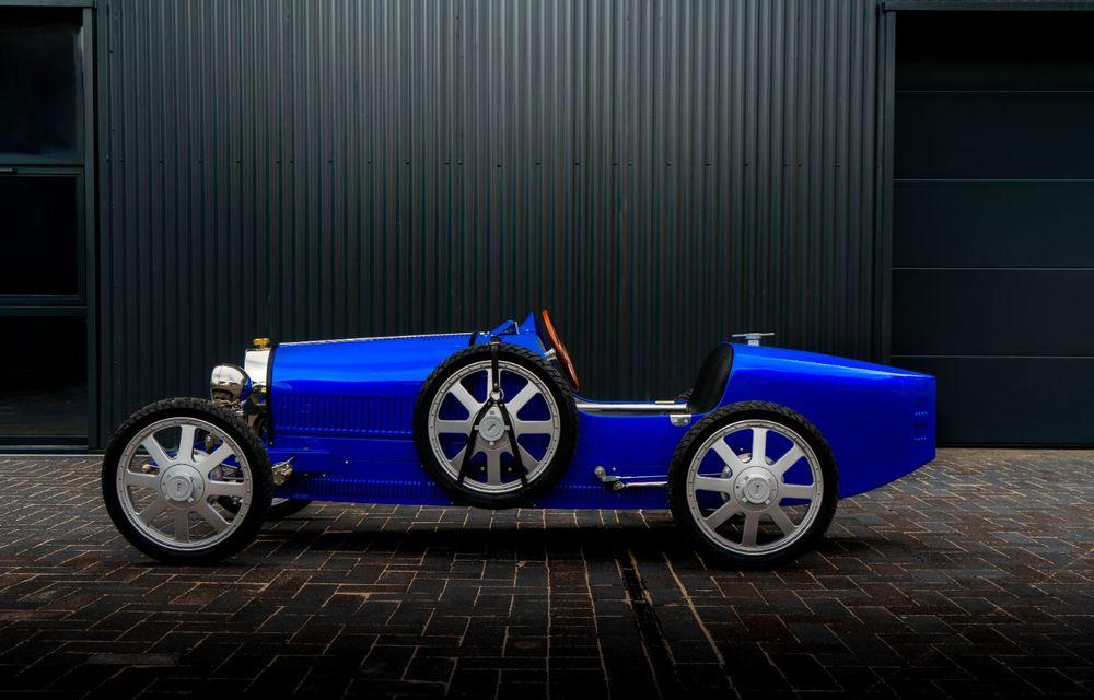 Bugatti a început producția lui Baby II: modelul electric de mici dimensiuni dezvoltă până la 13 cai putere și are o autonomie de peste 50 de kilometri - Poza 4