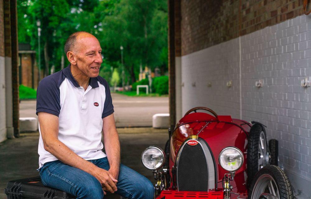 Bugatti a început producția lui Baby II: modelul electric de mici dimensiuni dezvoltă până la 13 cai putere și are o autonomie de peste 50 de kilometri - Poza 11