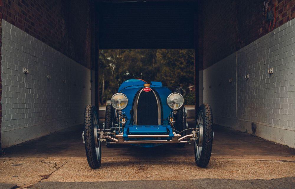 Bugatti a început producția lui Baby II: modelul electric de mici dimensiuni dezvoltă până la 13 cai putere și are o autonomie de peste 50 de kilometri - Poza 2