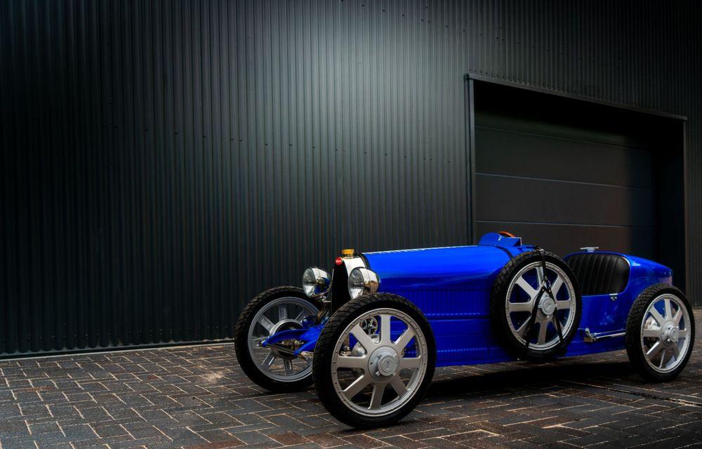 Bugatti a început producția lui Baby II: modelul electric de mici dimensiuni dezvoltă până la 13 cai putere și are o autonomie de peste 50 de kilometri - Poza 6