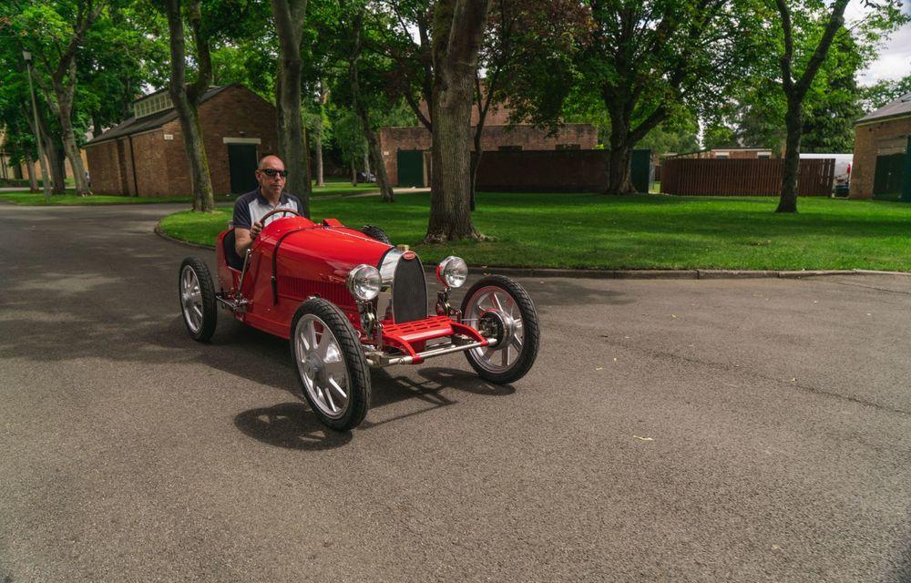Bugatti a început producția lui Baby II: modelul electric de mici dimensiuni dezvoltă până la 13 cai putere și are o autonomie de peste 50 de kilometri - Poza 10