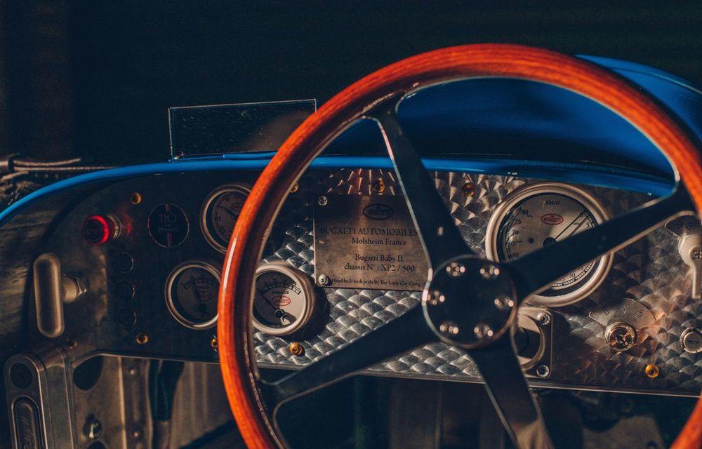 Bugatti a început producția lui Baby II: modelul electric de mici dimensiuni dezvoltă până la 13 cai putere și are o autonomie de peste 50 de kilometri - Poza 9