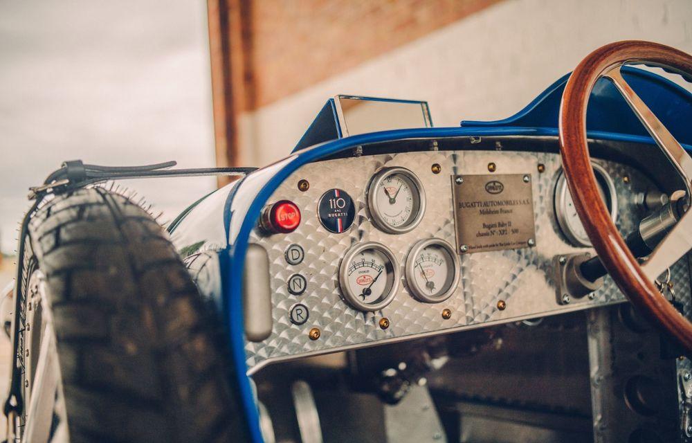 Bugatti a început producția lui Baby II: modelul electric de mici dimensiuni dezvoltă până la 13 cai putere și are o autonomie de peste 50 de kilometri - Poza 8