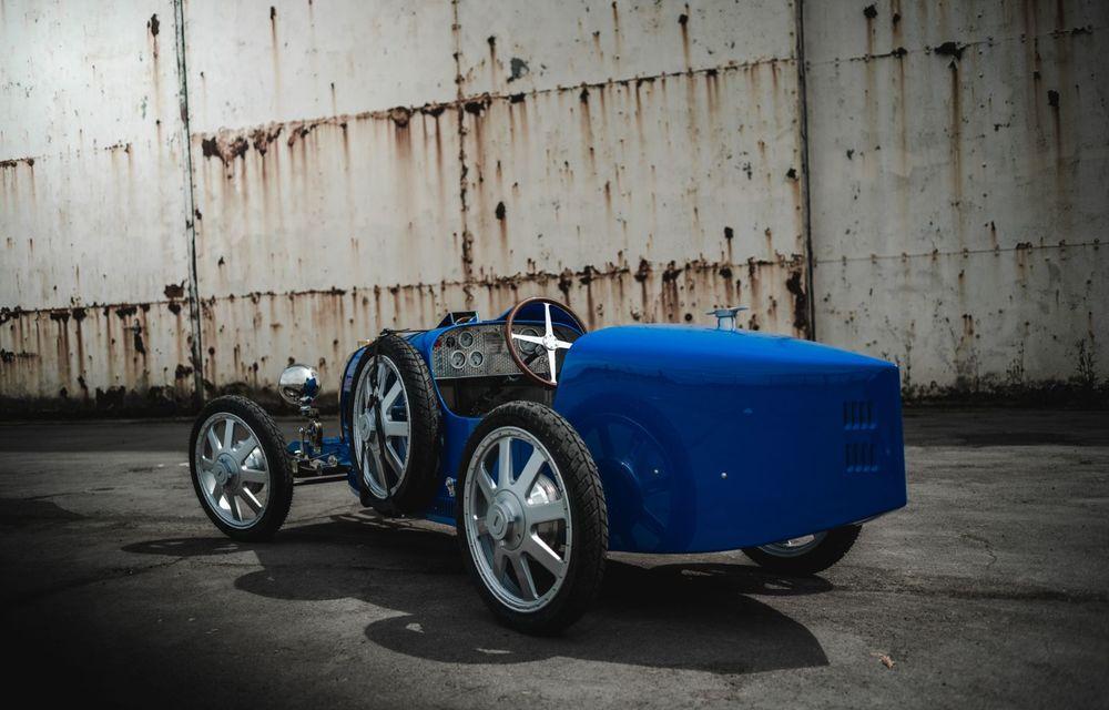 Bugatti a început producția lui Baby II: modelul electric de mici dimensiuni dezvoltă până la 13 cai putere și are o autonomie de peste 50 de kilometri - Poza 5