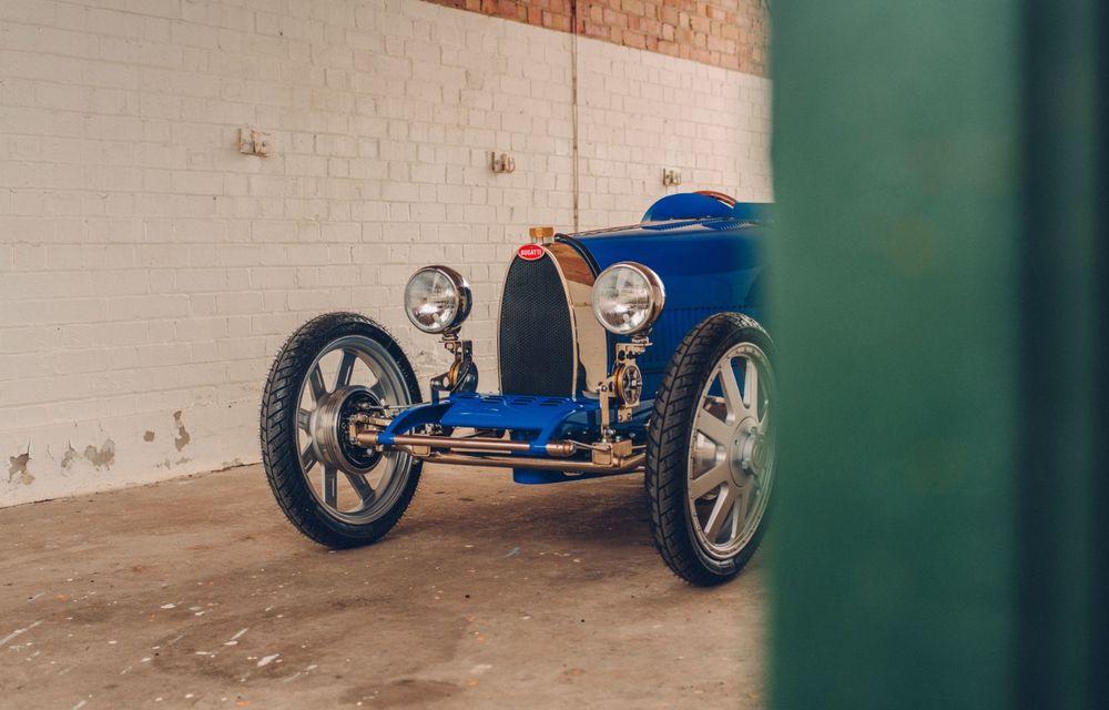 Bugatti a început producția lui Baby II: modelul electric de mici dimensiuni dezvoltă până la 13 cai putere și are o autonomie de peste 50 de kilometri - Poza 7