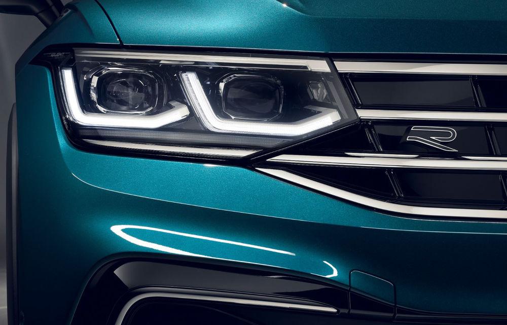 """Primele imagini neoficiale cu Volkswagen Tiguan X: fotografiile cu SUV-ul coupe destinat pieței din China au """"scăpat"""" pe internet înaintea prezentării oficiale - Poza 1"""