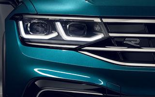 """Primele imagini neoficiale cu Volkswagen Tiguan X: fotografiile cu SUV-ul coupe destinat pieței din China au """"scăpat"""" pe internet înaintea prezentării oficiale"""