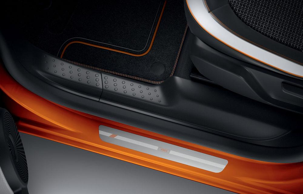 Renault Twingo ZE primește ediția limitată Vibes: culoare de caroserie Valencia Orange pentru cel mai nou model electric al francezilor - Poza 7