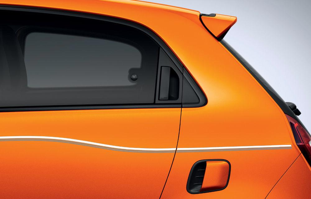 Renault Twingo ZE primește ediția limitată Vibes: culoare de caroserie Valencia Orange pentru cel mai nou model electric al francezilor - Poza 3