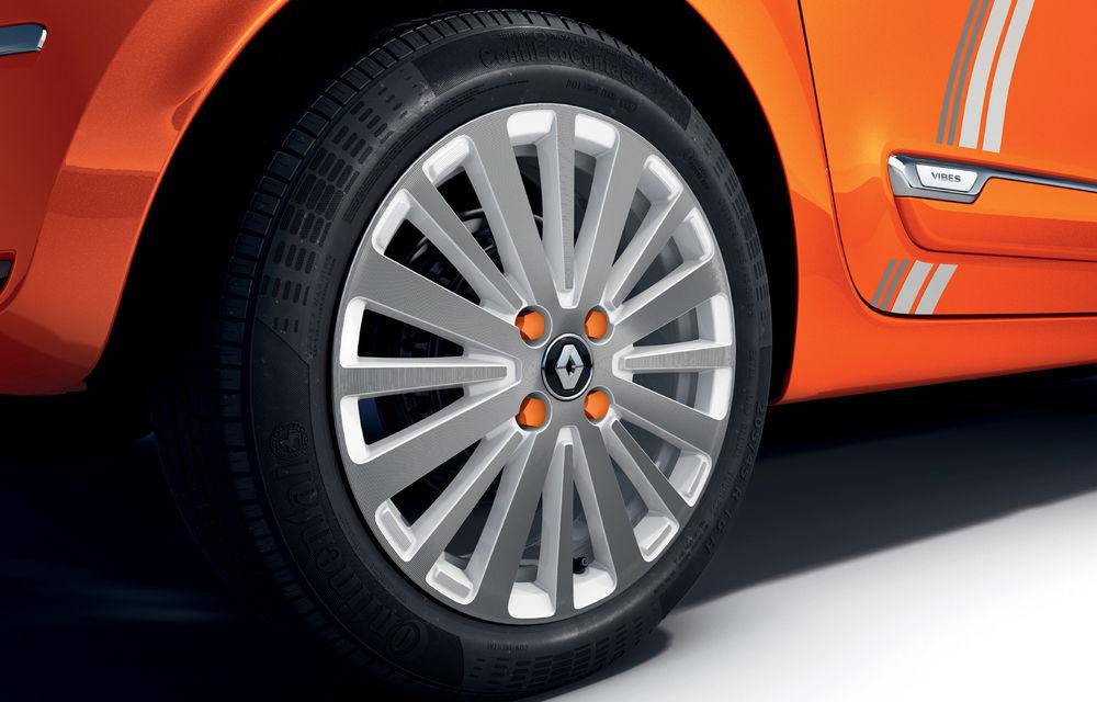Renault Twingo ZE primește ediția limitată Vibes: culoare de caroserie Valencia Orange pentru cel mai nou model electric al francezilor - Poza 5
