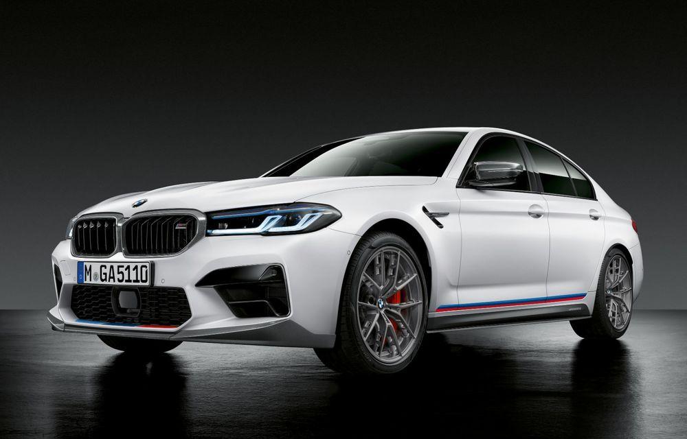 BMW lansează gama de accesorii M Performance pentru Seria 5 și M5 facelift: elemente de caroserie din fibră de carbon și noutăți pentru interior - Poza 6