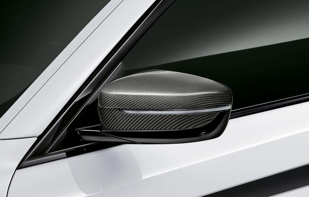 BMW lansează gama de accesorii M Performance pentru Seria 5 și M5 facelift: elemente de caroserie din fibră de carbon și noutăți pentru interior - Poza 22