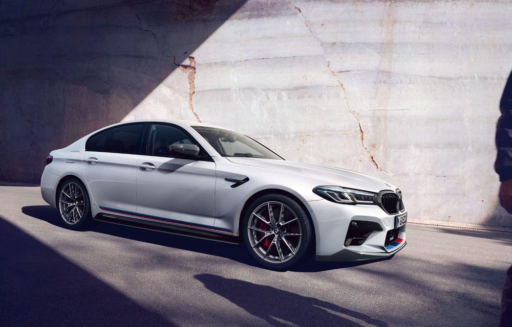 BMW lansează gama de accesorii M Performance pentru Seria 5 și M5 facelift: elemente de caroserie din fibră de carbon și noutăți pentru interior - Poza 5