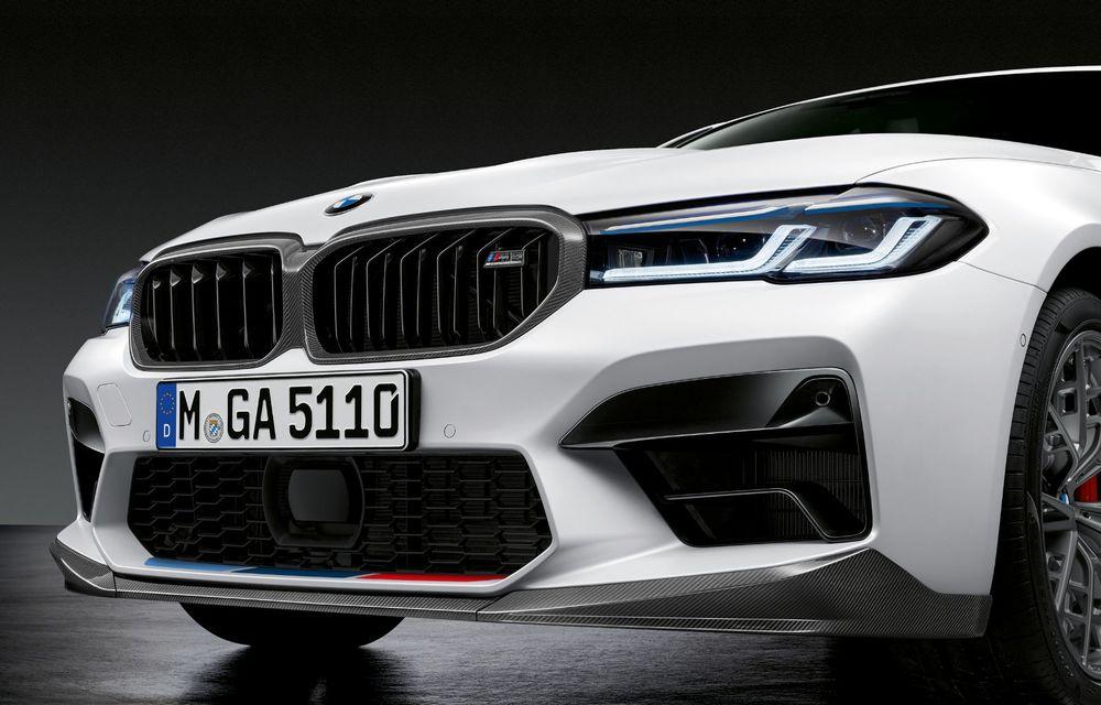 BMW lansează gama de accesorii M Performance pentru Seria 5 și M5 facelift: elemente de caroserie din fibră de carbon și noutăți pentru interior - Poza 42
