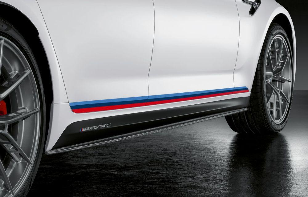BMW lansează gama de accesorii M Performance pentru Seria 5 și M5 facelift: elemente de caroserie din fibră de carbon și noutăți pentru interior - Poza 46