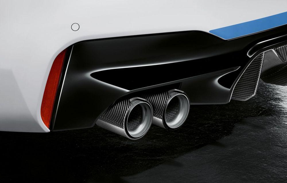 BMW lansează gama de accesorii M Performance pentru Seria 5 și M5 facelift: elemente de caroserie din fibră de carbon și noutăți pentru interior - Poza 40