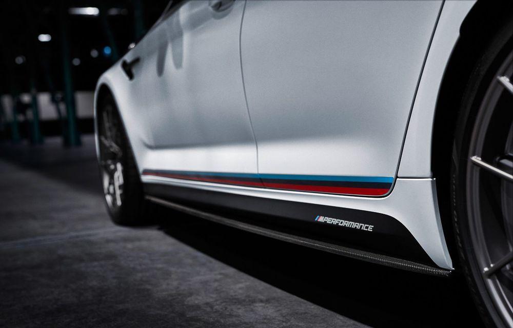 BMW lansează gama de accesorii M Performance pentru Seria 5 și M5 facelift: elemente de caroserie din fibră de carbon și noutăți pentru interior - Poza 36