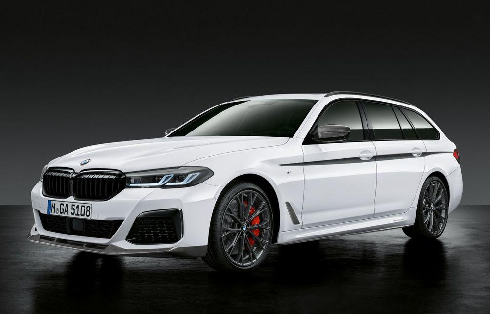BMW lansează gama de accesorii M Performance pentru Seria 5 și M5 facelift: elemente de caroserie din fibră de carbon și noutăți pentru interior - Poza 9