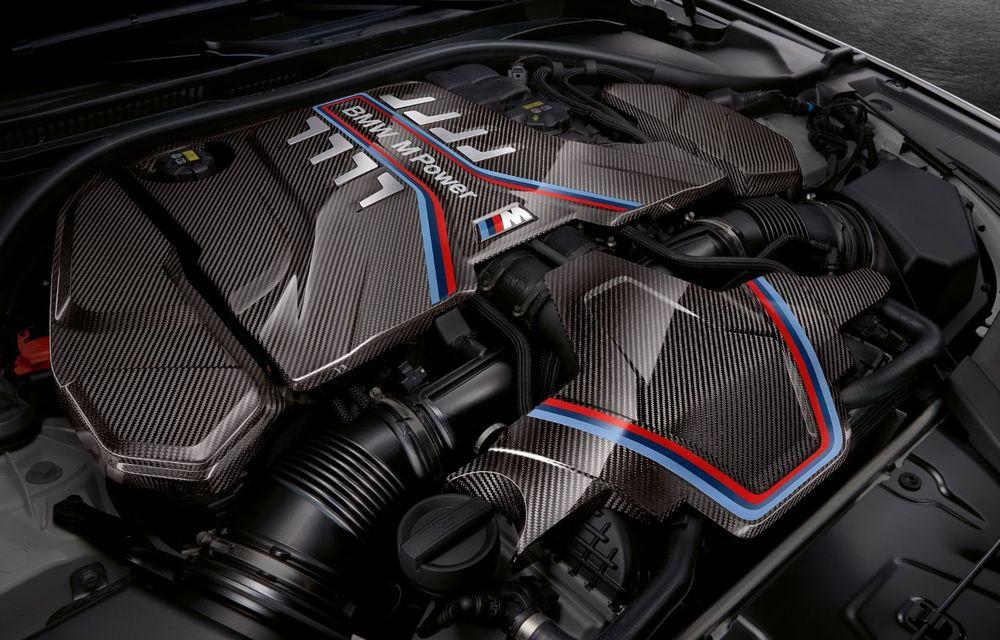 BMW lansează gama de accesorii M Performance pentru Seria 5 și M5 facelift: elemente de caroserie din fibră de carbon și noutăți pentru interior - Poza 55