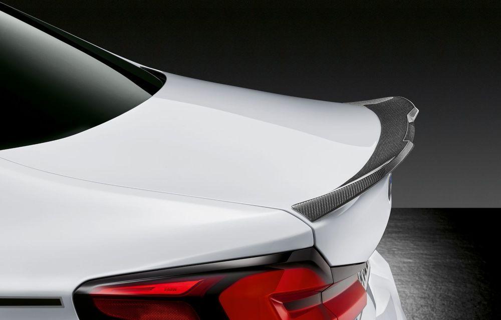 BMW lansează gama de accesorii M Performance pentru Seria 5 și M5 facelift: elemente de caroserie din fibră de carbon și noutăți pentru interior - Poza 28