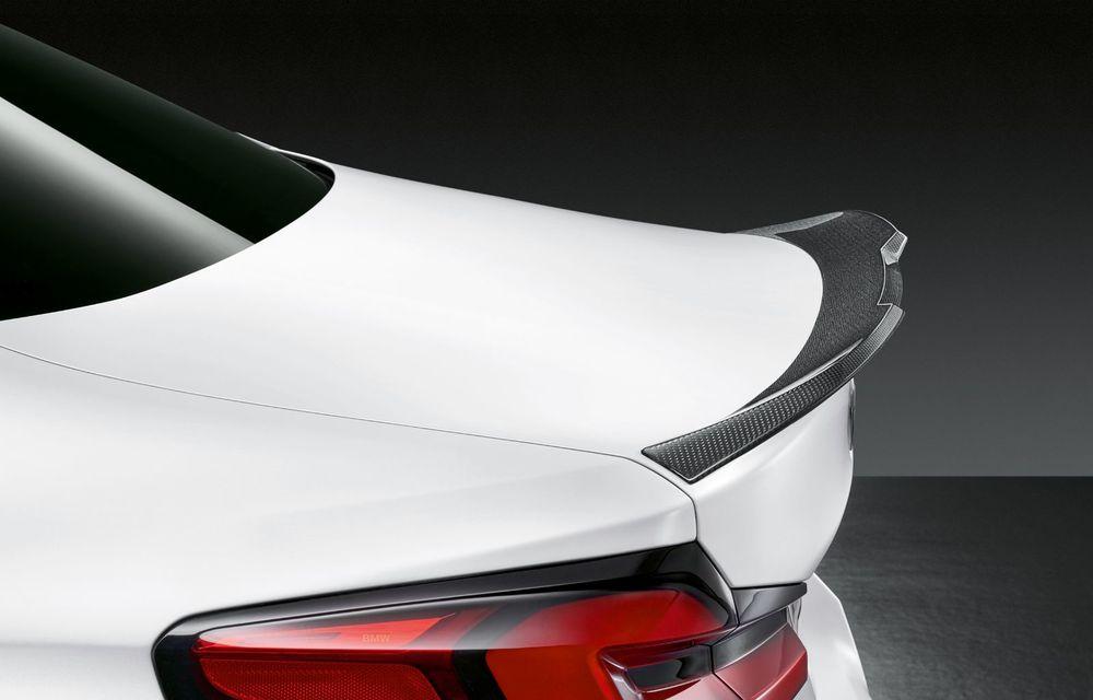BMW lansează gama de accesorii M Performance pentru Seria 5 și M5 facelift: elemente de caroserie din fibră de carbon și noutăți pentru interior - Poza 45