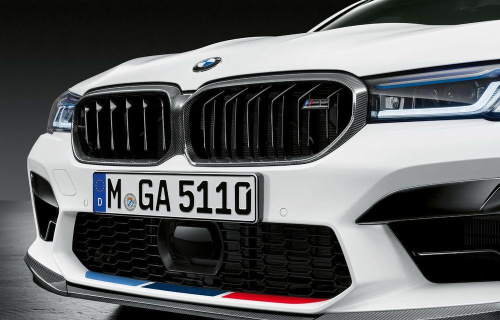 BMW lansează gama de accesorii M Performance pentru Seria 5 și M5 facelift: elemente de caroserie din fibră de carbon și noutăți pentru interior - Poza 43
