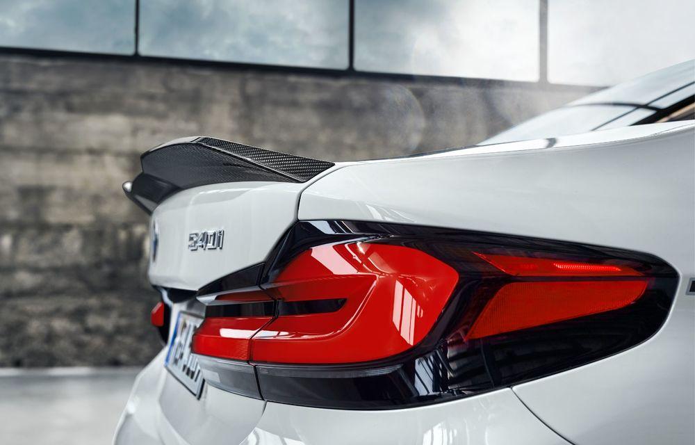 BMW lansează gama de accesorii M Performance pentru Seria 5 și M5 facelift: elemente de caroserie din fibră de carbon și noutăți pentru interior - Poza 30
