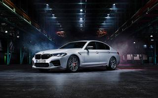 BMW lansează gama de accesorii M Performance pentru Seria 5 și M5 facelift: elemente de caroserie din fibră de carbon și noutăți pentru interior