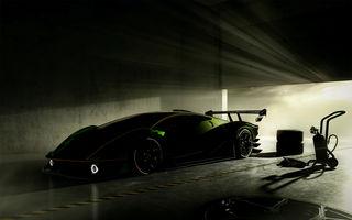 O nouă imagine teaser cu viitorul Lamborghini SCV12: modelul va fi echipat cu un motor V12 cu peste 830 CP