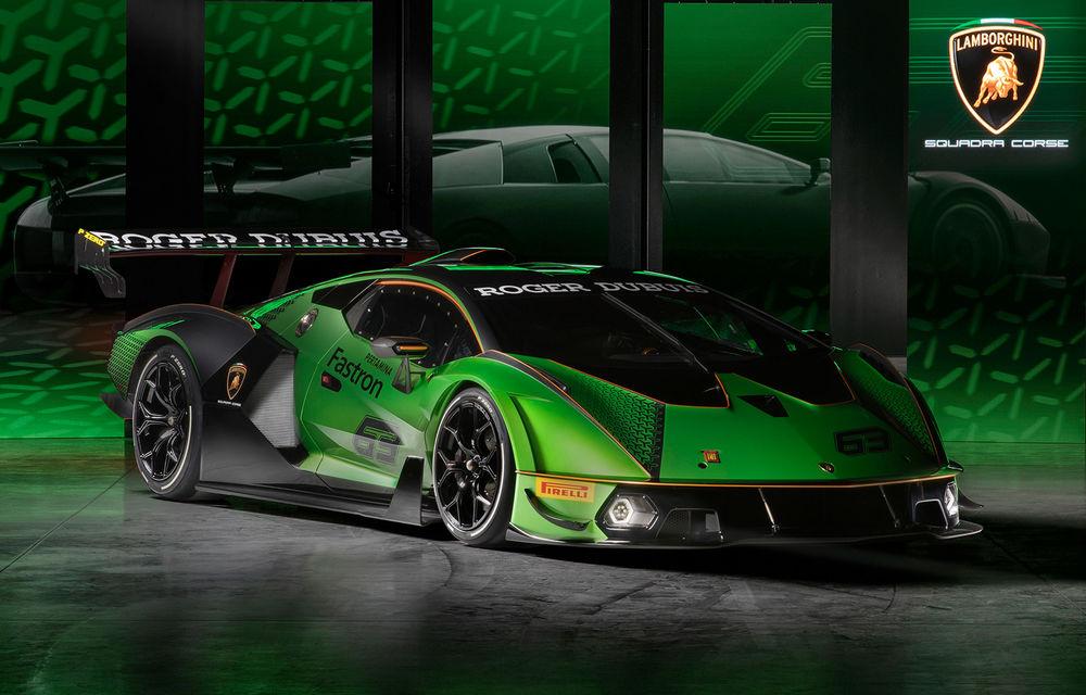 Lamborghini a prezentat noul Essenza SCV12: hypercar-ul va fi disponibil în 40 de unități și va fi echipat cu cel mai puternic motor V12 din istoria companiei - Poza 1