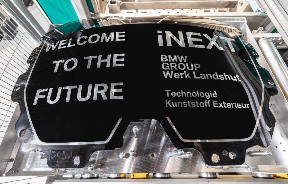 BMW prezintă detalii despre grila SUV-ului electric iNext: va integra camere video, radare și senzori pentru funcții autonome - Poza 2