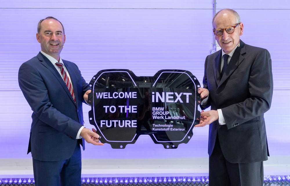 BMW prezintă detalii despre grila SUV-ului electric iNext: va integra camere video, radare și senzori pentru funcții autonome - Poza 1