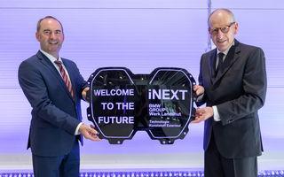 BMW prezintă detalii despre grila SUV-ului electric iNext: va integra camere video, radare și senzori pentru funcții autonome