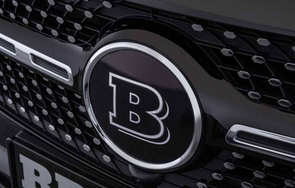 Pachet complet de modificări pentru Mercedes-Benz GLB din partea Brabus: noutăți la exterior, suspensie sport și putere îmbunătățită pentru motorul de 2.0 litri - Poza 7