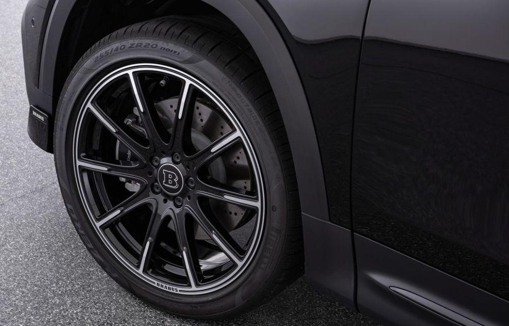 Pachet complet de modificări pentru Mercedes-Benz GLB din partea Brabus: noutăți la exterior, suspensie sport și putere îmbunătățită pentru motorul de 2.0 litri - Poza 11