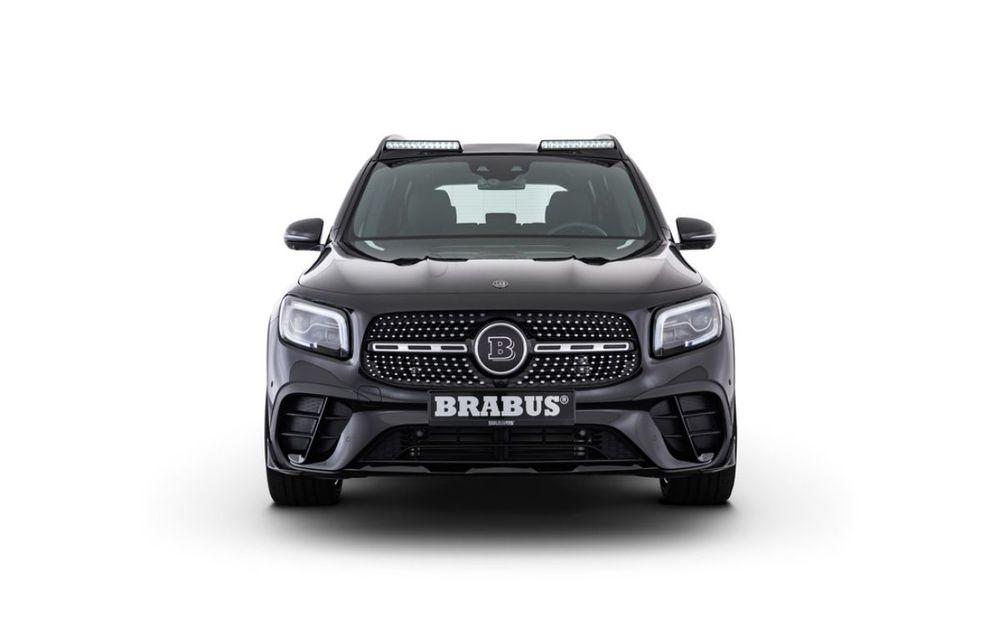 Pachet complet de modificări pentru Mercedes-Benz GLB din partea Brabus: noutăți la exterior, suspensie sport și putere îmbunătățită pentru motorul de 2.0 litri - Poza 2