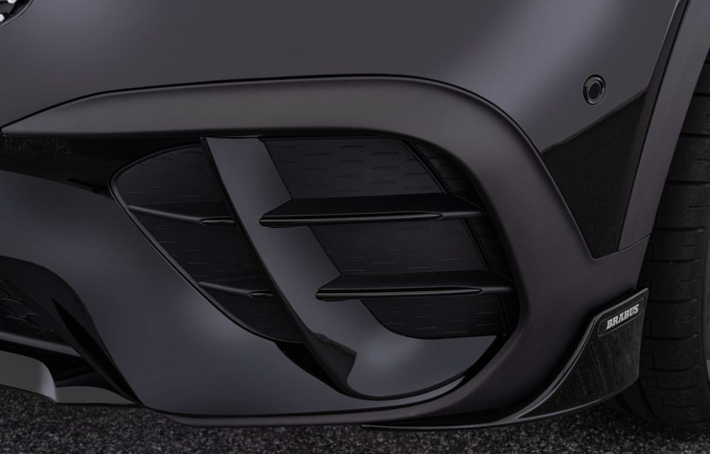 Pachet complet de modificări pentru Mercedes-Benz GLB din partea Brabus: noutăți la exterior, suspensie sport și putere îmbunătățită pentru motorul de 2.0 litri - Poza 8