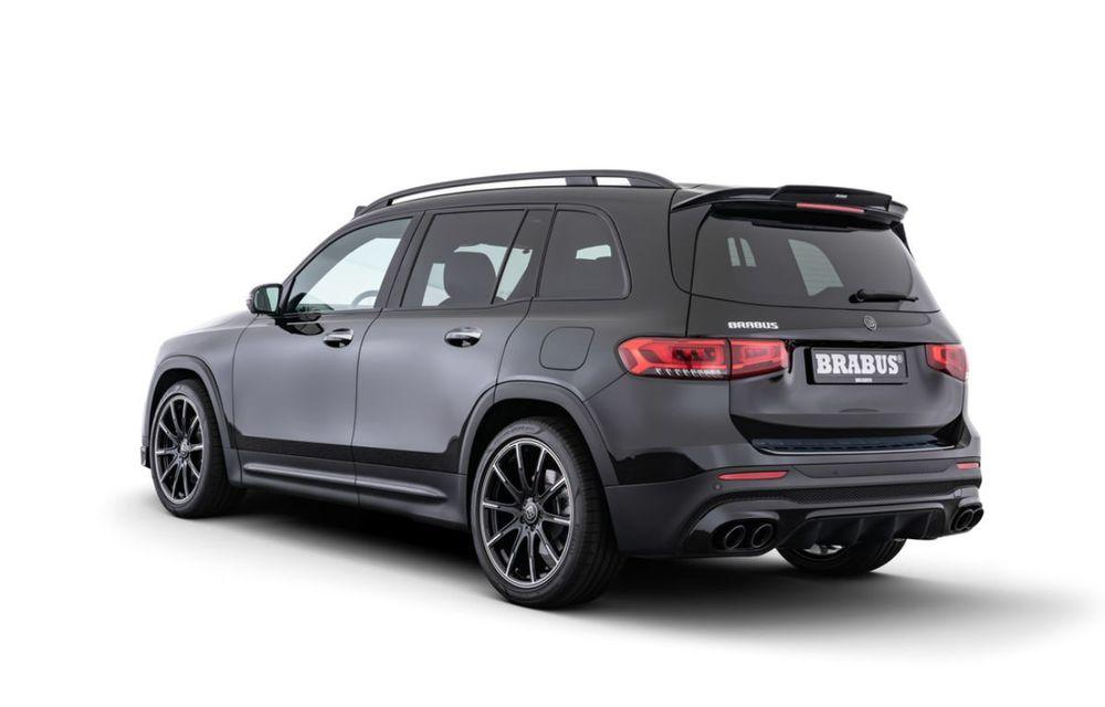 Pachet complet de modificări pentru Mercedes-Benz GLB din partea Brabus: noutăți la exterior, suspensie sport și putere îmbunătățită pentru motorul de 2.0 litri - Poza 4