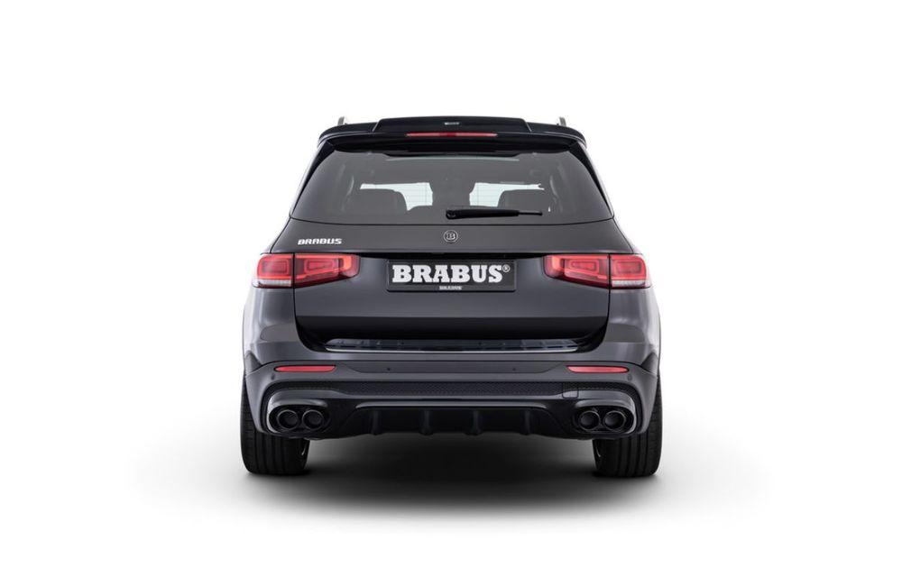 Pachet complet de modificări pentru Mercedes-Benz GLB din partea Brabus: noutăți la exterior, suspensie sport și putere îmbunătățită pentru motorul de 2.0 litri - Poza 5