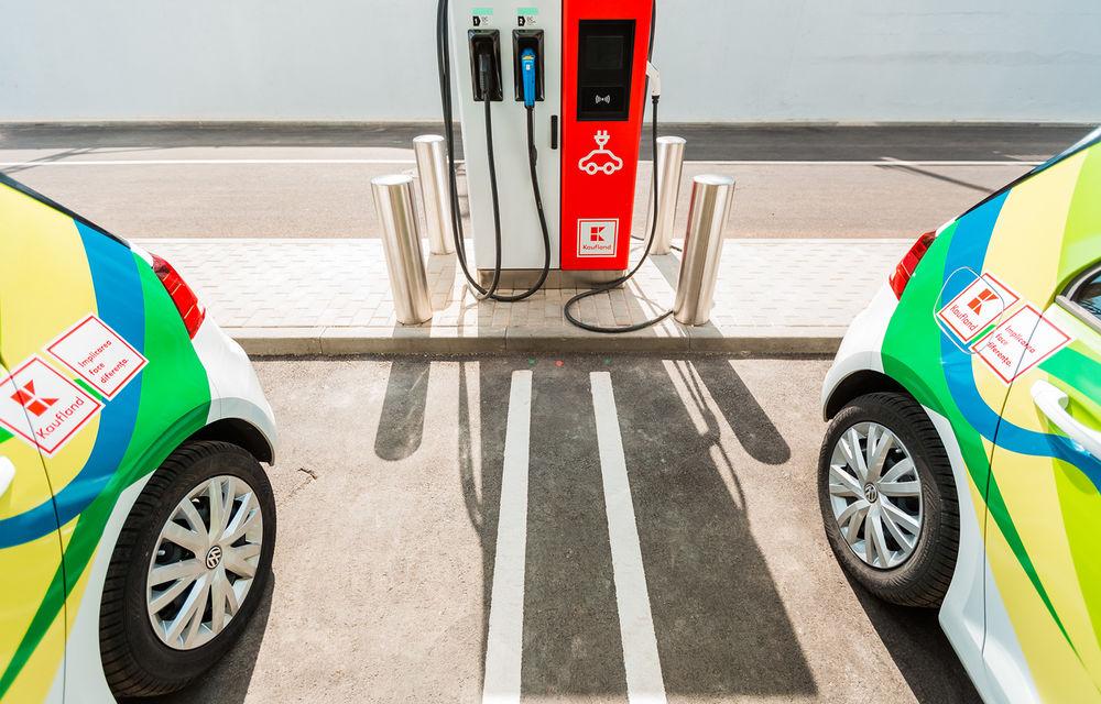 Kaufland va extinde rețeaua de stații de încărcare dedicate mașinilor electrice: noul proiect vizează dezvoltarea unui coridor pe ruta București - Chișinău - Poza 1