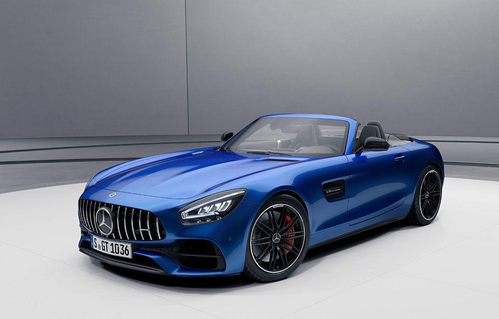 Noutăți în gama Mercedes-AMG GT: 530 de cai putere pentru versiunea de bază și mai multe echipamente disponibile standard - Poza 5