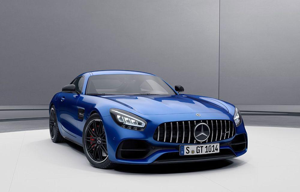 Noutăți în gama Mercedes-AMG GT: 530 de cai putere pentru versiunea de bază și mai multe echipamente disponibile standard - Poza 6