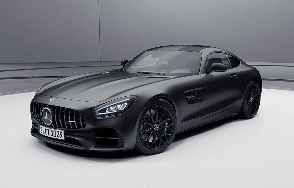 Noutăți în gama Mercedes-AMG GT: 530 de cai putere pentru versiunea de bază și mai multe echipamente disponibile standard - Poza 1