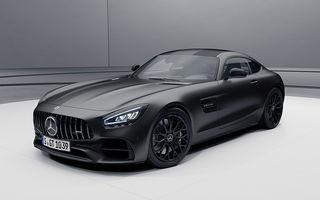 Noutăți în gama Mercedes-AMG GT: 530 de cai putere pentru versiunea de bază și mai multe echipamente disponibile standard