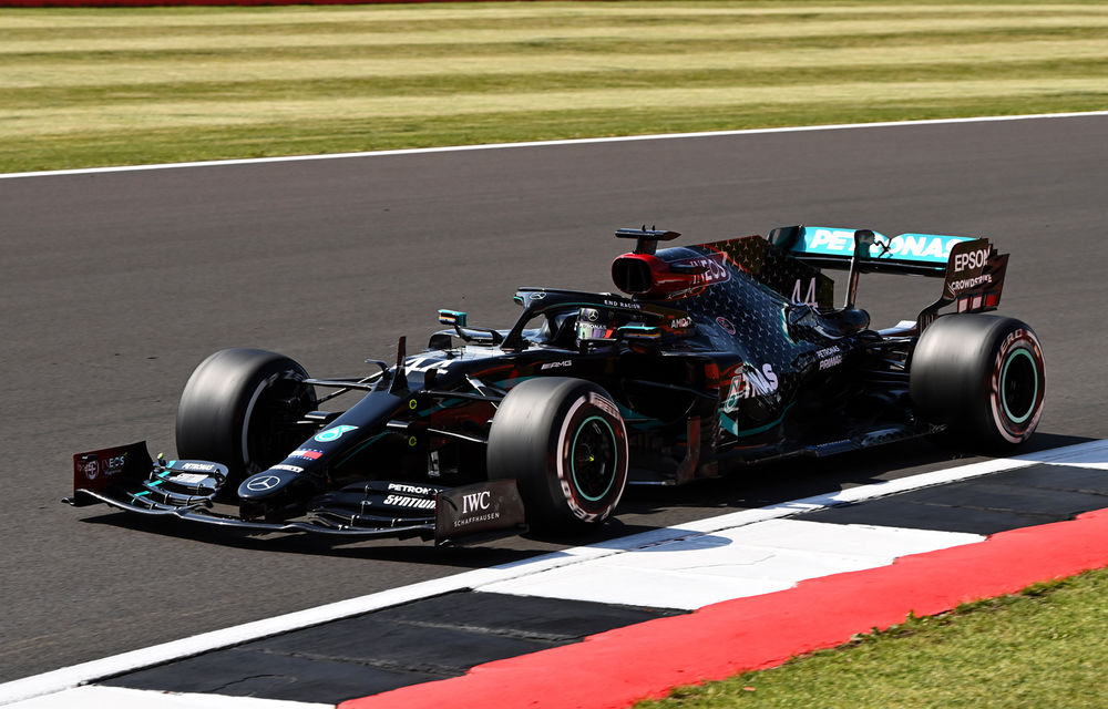 Hamilton, pole position la Silverstone în fața lui Bottas! Verstappen și Leclerc, pe a doua linie a grilei de start - Poza 1