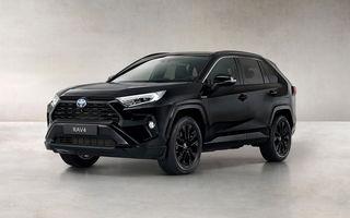 Toyota lansează RAV4 Hybrid Black Edition: versiune specială vopsită complet în negru