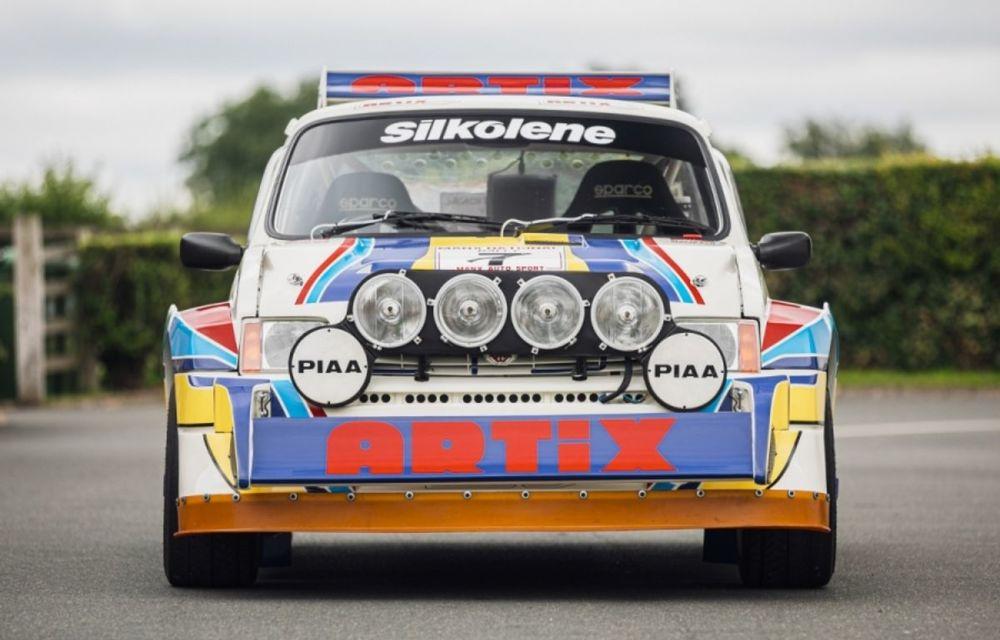 Pentru iubitorii de motorsport: un MG Metro 6R4 și un Talbot Lotus Sunbeam sunt scoase la licitație - Poza 7