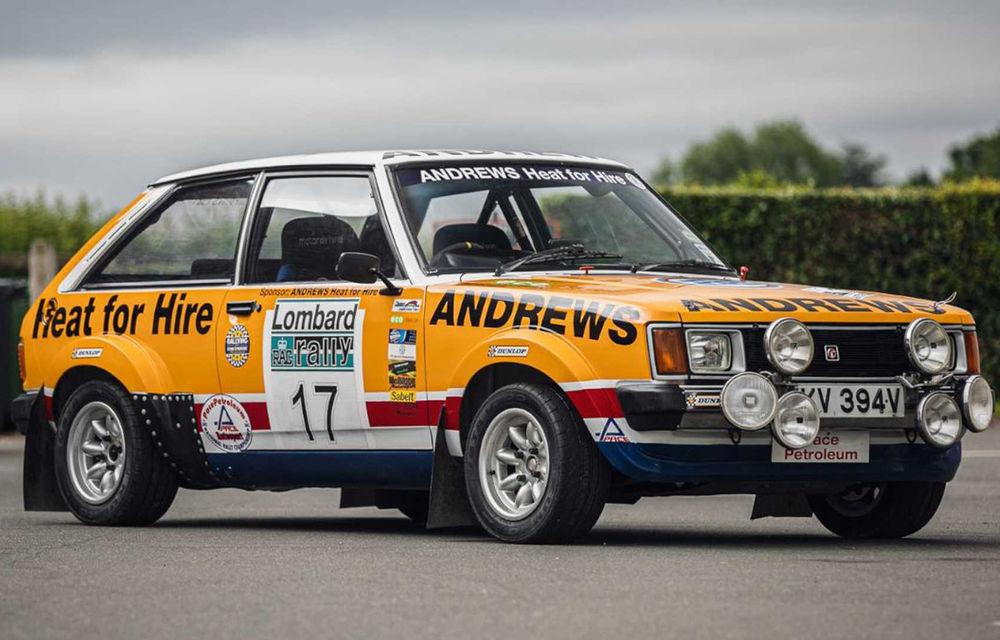 Pentru iubitorii de motorsport: un MG Metro 6R4 și un Talbot Lotus Sunbeam sunt scoase la licitație - Poza 1